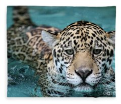 I Love The Water Fleece Blanket