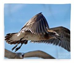 I Saw It First Fleece Blanket