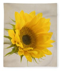 I See Sunshine Fleece Blanket