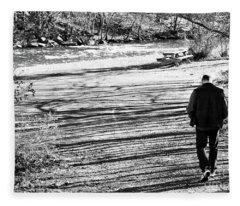 I Walk Alone Fleece Blanket
