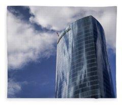 Iberdrola Tower Fleece Blanket