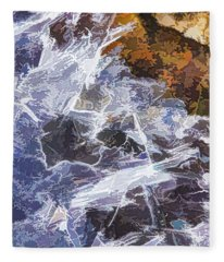 Ice Water Fleece Blanket