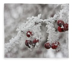 Iced Hawthorn Fleece Blanket