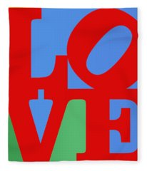 Iconic Love Fleece Blanket