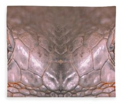 Iguana Eyes Fleece Blanket
