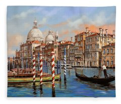 Il Canal Grande Fleece Blanket