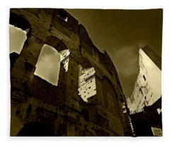 Il Colosseo Fleece Blanket