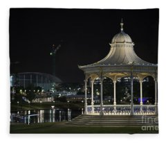 Illuminated Elegance Fleece Blanket