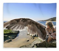 I'm A Witness To Your Life Fleece Blanket