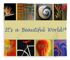 Image Mosaic - Promotional Collage Fleece Blanket