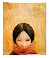 Oriental Fleece Blankets