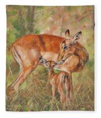Impala Antelop Fleece Blanket