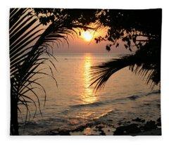 In Between Days Fleece Blanket