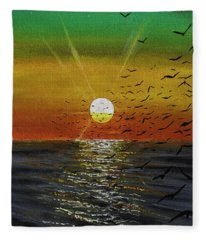 In Dreams Fleece Blanket