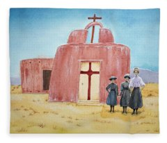 In Old New Mexico II Fleece Blanket