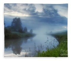 In The Morning At 02.57 Fleece Blanket