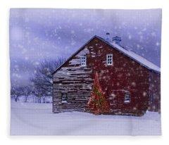 In The Still Of The Night Fleece Blanket
