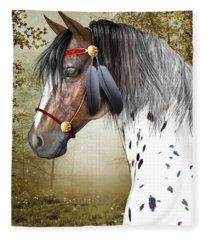 The Indian Pony Fleece Blanket