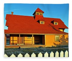 Indian River Lifesaving Station Museum Fleece Blanket