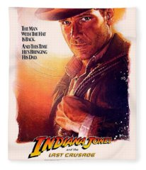 Indiana Jones And The Last Crusade  Fleece Blanket