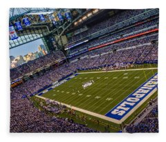 Indianapolis And The Colts Fleece Blanket
