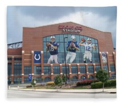 Indianapolis Colts Lucas Oil Stadium Fleece Blanket