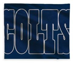 Indianapolis Colts Uniform Fleece Blanket