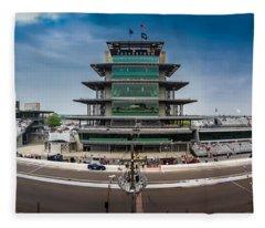 Indianapolis Motor Speedway Fleece Blanket