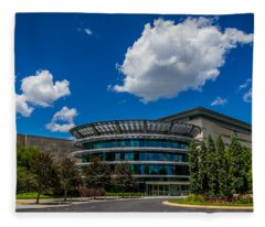 Indianapolis Museum Of Art Fleece Blanket