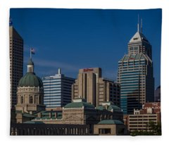 Indianapolis Skyscrapers Fleece Blanket