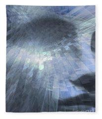 Inner Dialog  Fleece Blanket