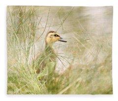 Innocent Duckling Fleece Blanket