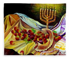 Intercession Fleece Blanket