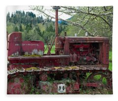 International Harvester Fleece Blanket