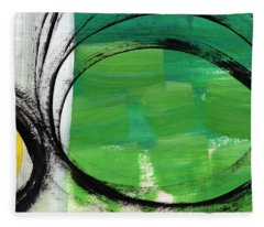Intertwined- Abstract Painting Fleece Blanket