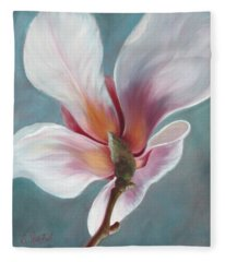 Fleece Blanket featuring the painting Intimate Apparel by Sandi Whetzel