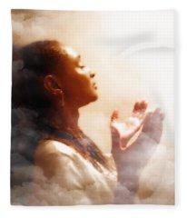 Into His Glory Fleece Blanket