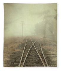Into The Fog Fleece Blanket