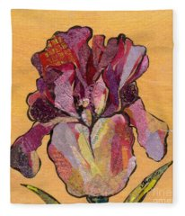 Iris V  - Series V Fleece Blanket