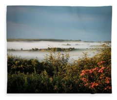 Irish Mist Over Lissycasey Fleece Blanket