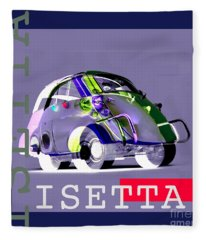 Isetta Fleece Blanket