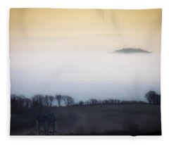 Island In The Irish Mist Fleece Blanket