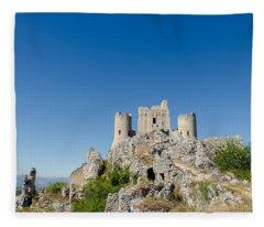 Italian Landscapes - Forgotten Ages Fleece Blanket