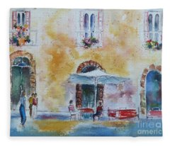 Italian Piazza Fleece Blanket