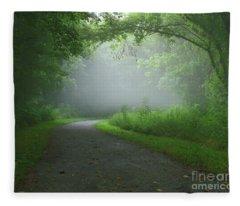 Mystery Walk Fleece Blanket