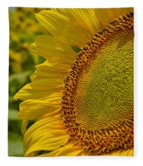 Fleece Blanket featuring the photograph Itsy Bitsy by Skip Hunt