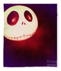 Jack Skellington Glowing Fleece Blanket