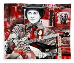Jack White Fleece Blanket