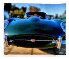 1967 Jaguar E Type Fleece Blanket
