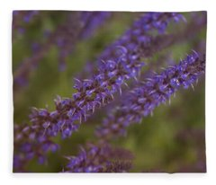 Jardin De Rue Fleece Blanket